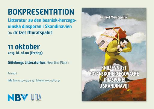 Bokpresentation: Bosnien-hercegovinska diasporas litteratur i Skandinavien
