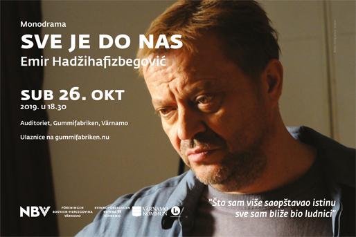 """Hadžihafizbegovićeva monodrama """"Sve je do nas"""" (Foto: Story press, TVBH1)"""