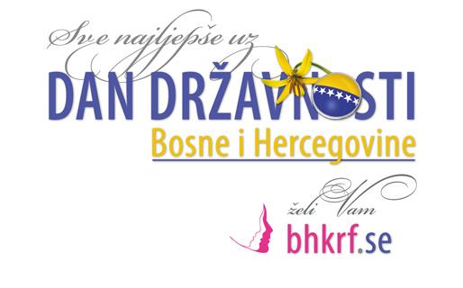 Sve najljepše uz Dan državnosti Bosne i Hercegovine!