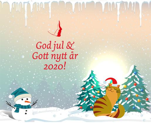 God jul och Gott nytt år 2020!
