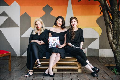 Författare av boken (från vänster till höger): Masha Durkalić, Hatidža Gušić och Amila Hrustić Batovanja (Foto: Imrana Kapetanović)