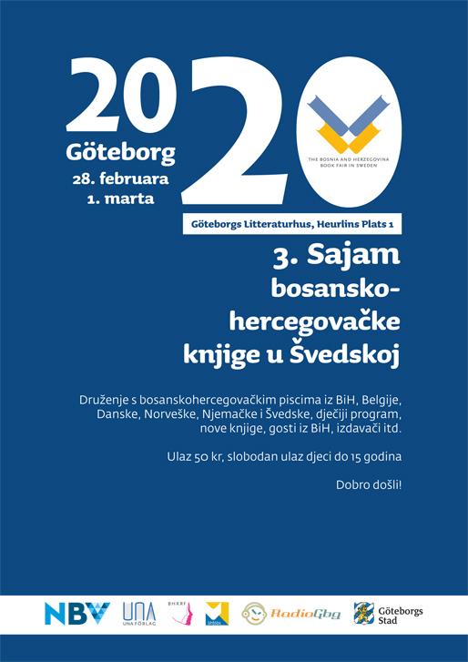 3. Sajam bosanskohercegovačke knjige u Švedskoj