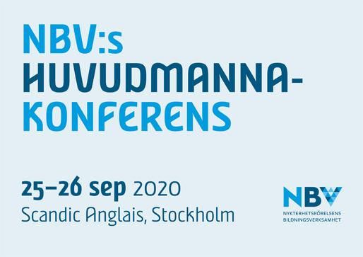 NBV:s huvudmannakonferens 2020