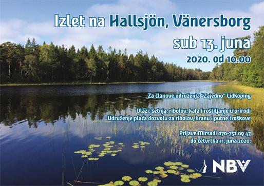 Izlet na Hallsjön, Vänersborg