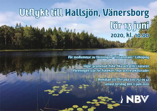 Utflykt till Hallsjön, Vänersborg