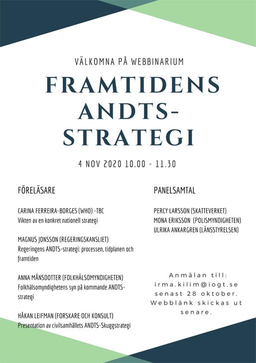 Webbinarium: Framtidens ANDTS-strategi