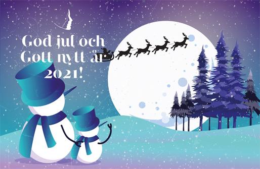God jul och Gott nytt år 2021!