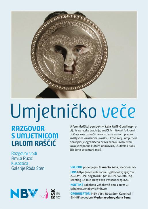 Razgovor s umjetnicom Lalom Raščić o njenoj izložbi u galeriji Röda sten u Göteborgu