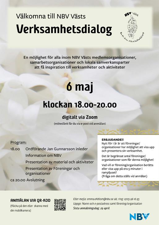 Dijalog o aktivnostima NBV Väst