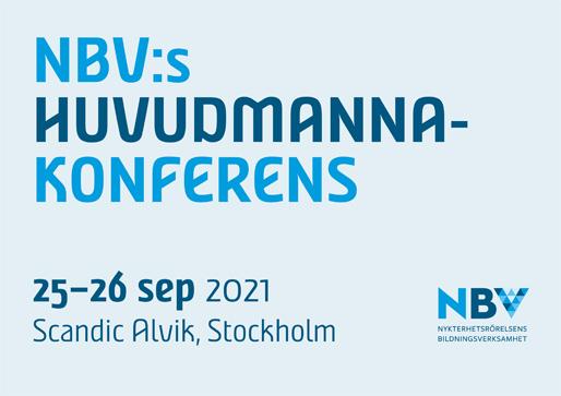 NBV:s huvudmannakonferens 2021