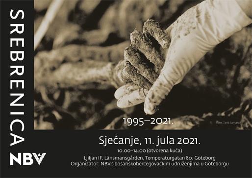 Sjećanje na žrtve genocida u Srebrenici 11. jula 1995.