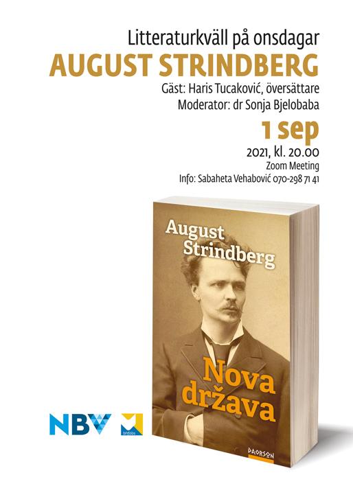 Litteraturkväll på onsdagar: August Strindberg