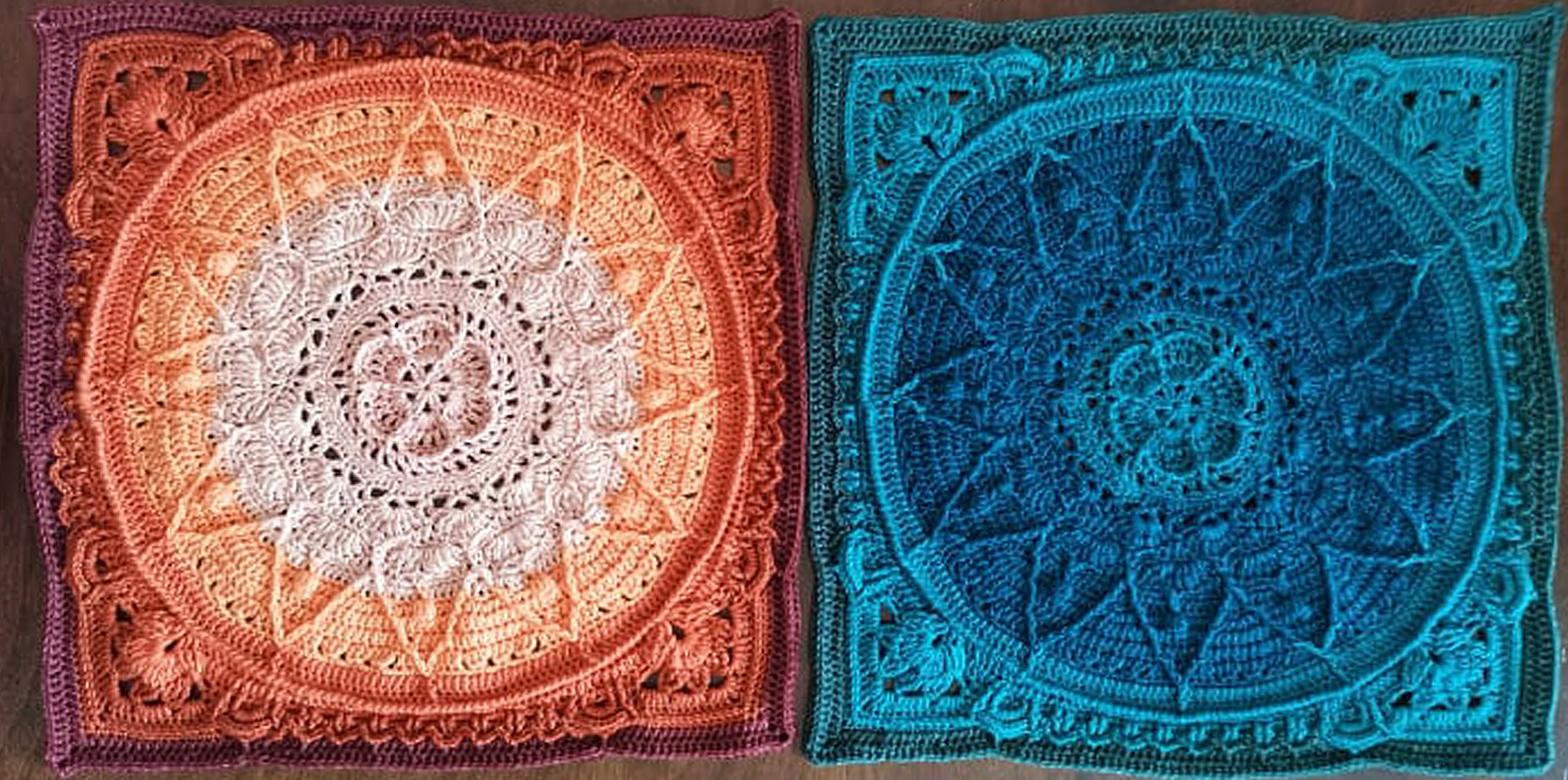"""Utställningen """"Mandala virkning"""""""