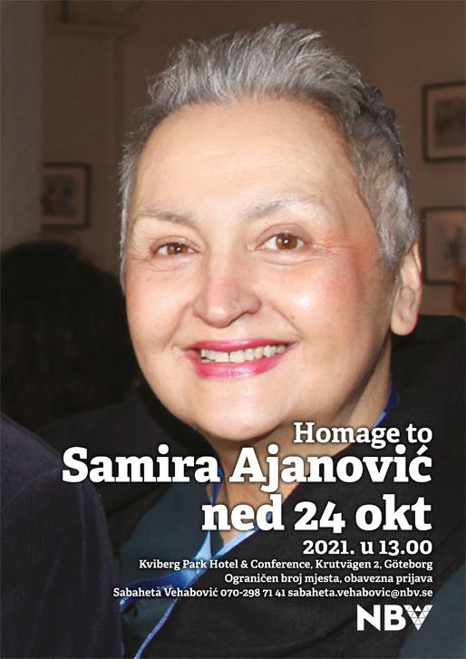Homage to Samira Ajanović (1965–2021)