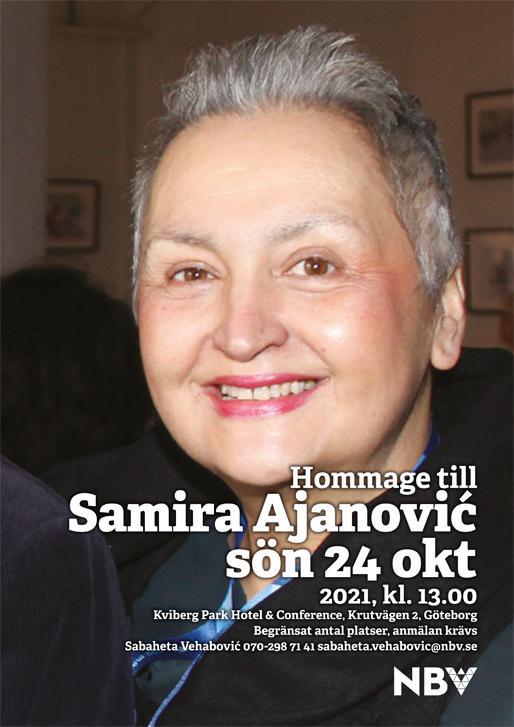 Hommage till Samira Ajanović (1965–2021)