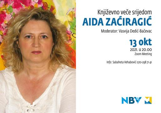 Književno veče srijedom: Aida Zaćiragić